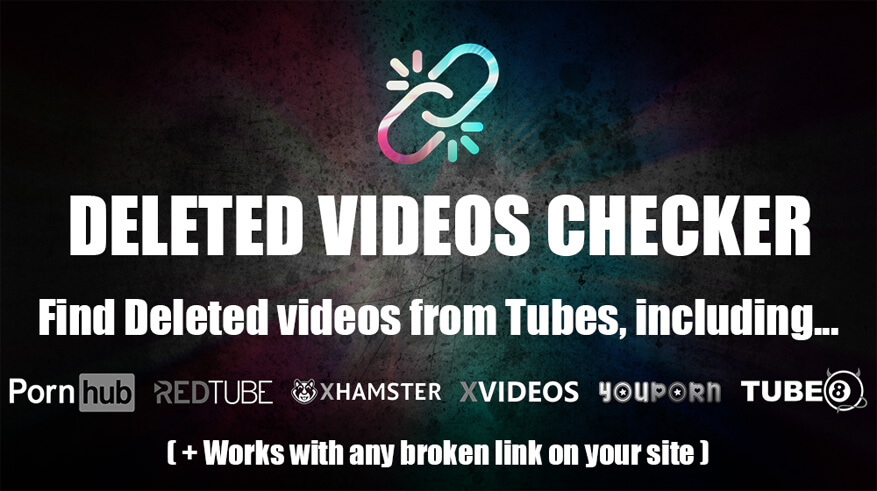 Deleted Videos Checker