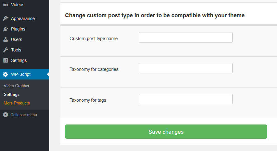 Custom Post Type compatibility