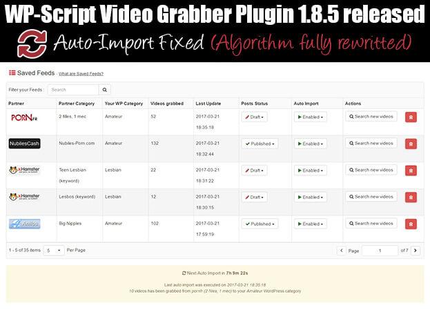 wp-script Grabber Plugin 1.8.5