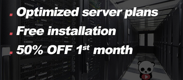 Optimized web hosting
