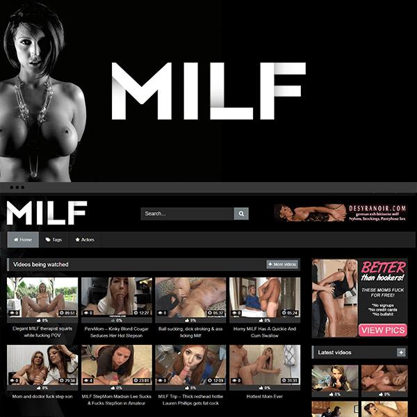 WordPress MILF Porn Tube